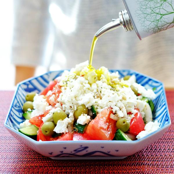 毎日食べたくなるギリシャサラダ