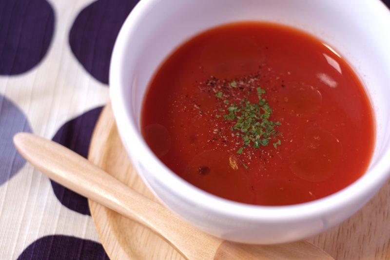 簡単!トマトのスープ