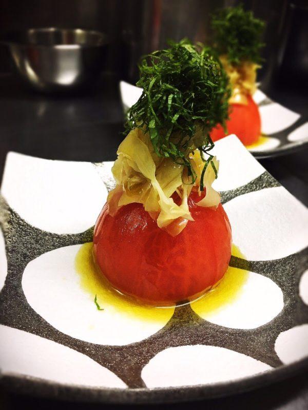 シェフ直伝 ガリトマト