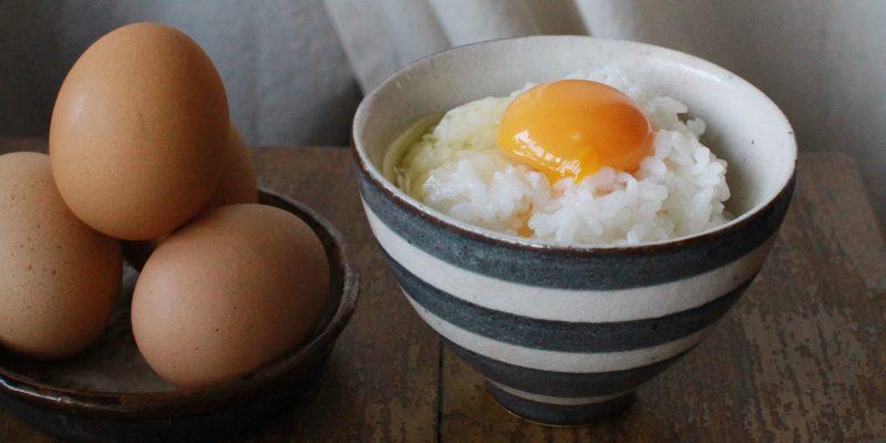 卵かけごはんにオリーブオイルが合うんです!