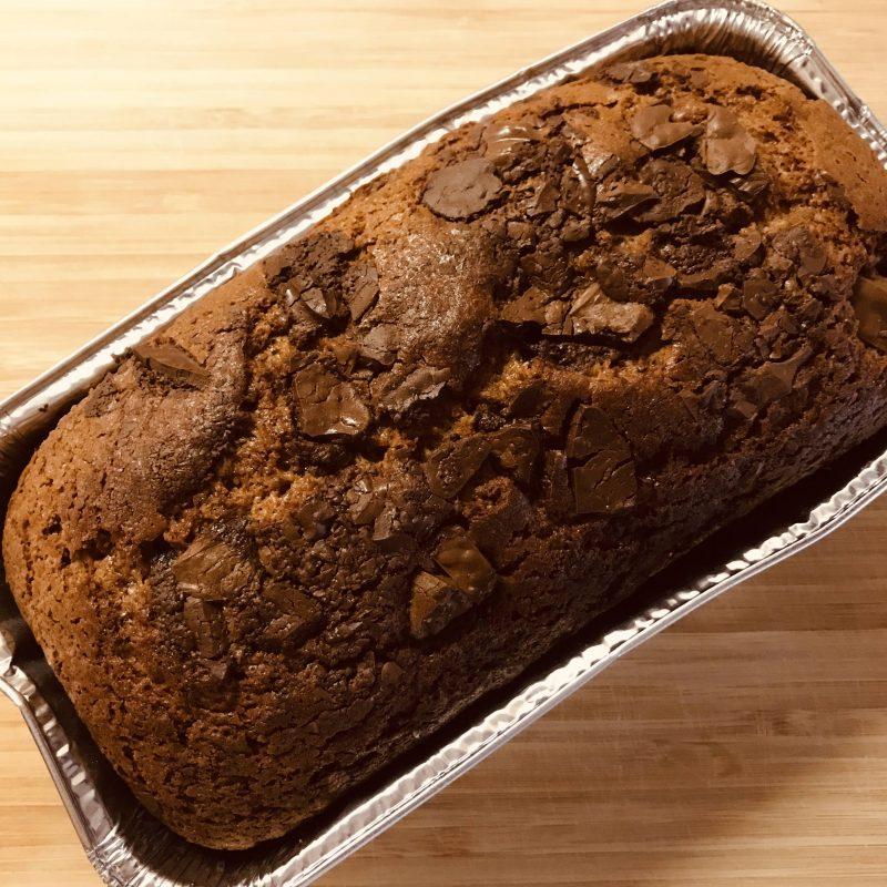 バレンタインに簡単チョコパウンドケーキ