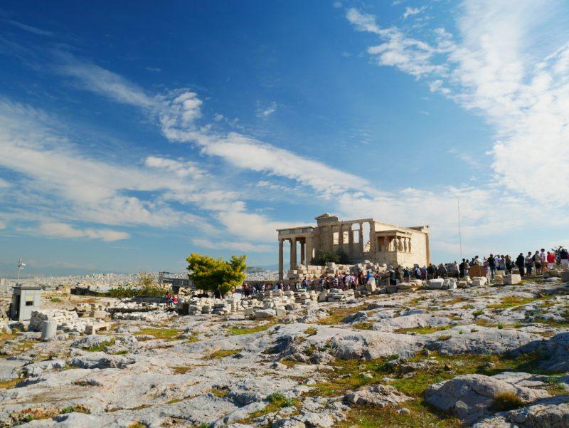現存する、ギリシャの神殿
