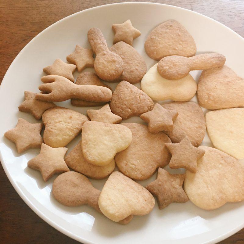 アトピーのある甥っ子にオリーブオイルクッキーを