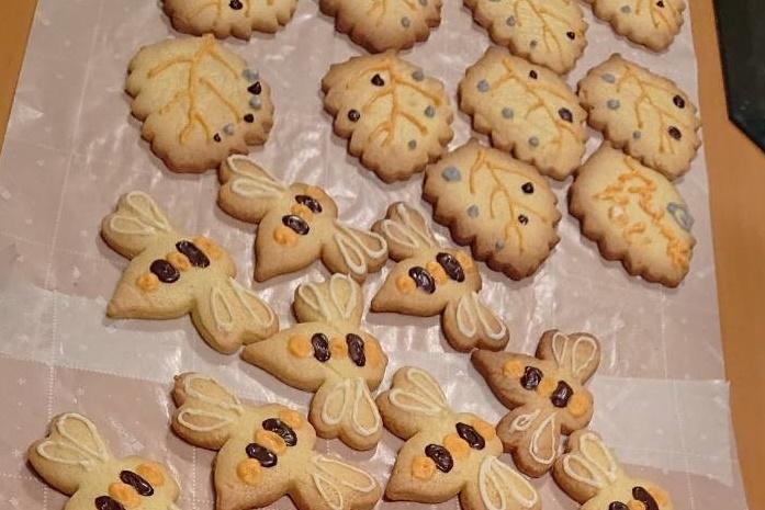 バター不使用!簡単ヘルシークッキー
